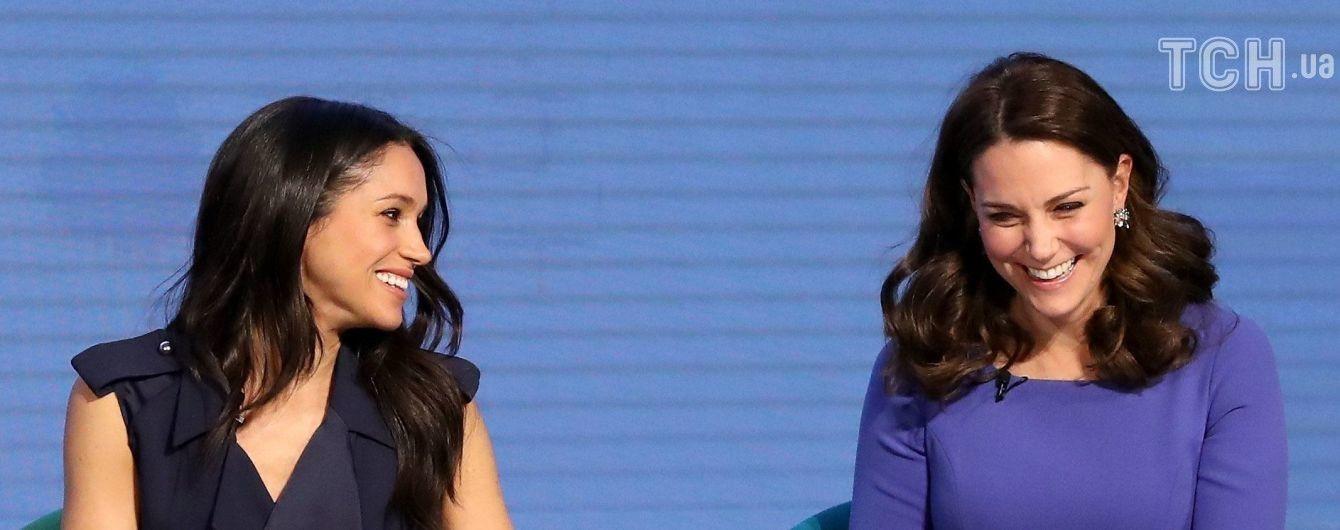 Кейт Міддлтон та Меган Маркл зобразили в кумедних емоджі