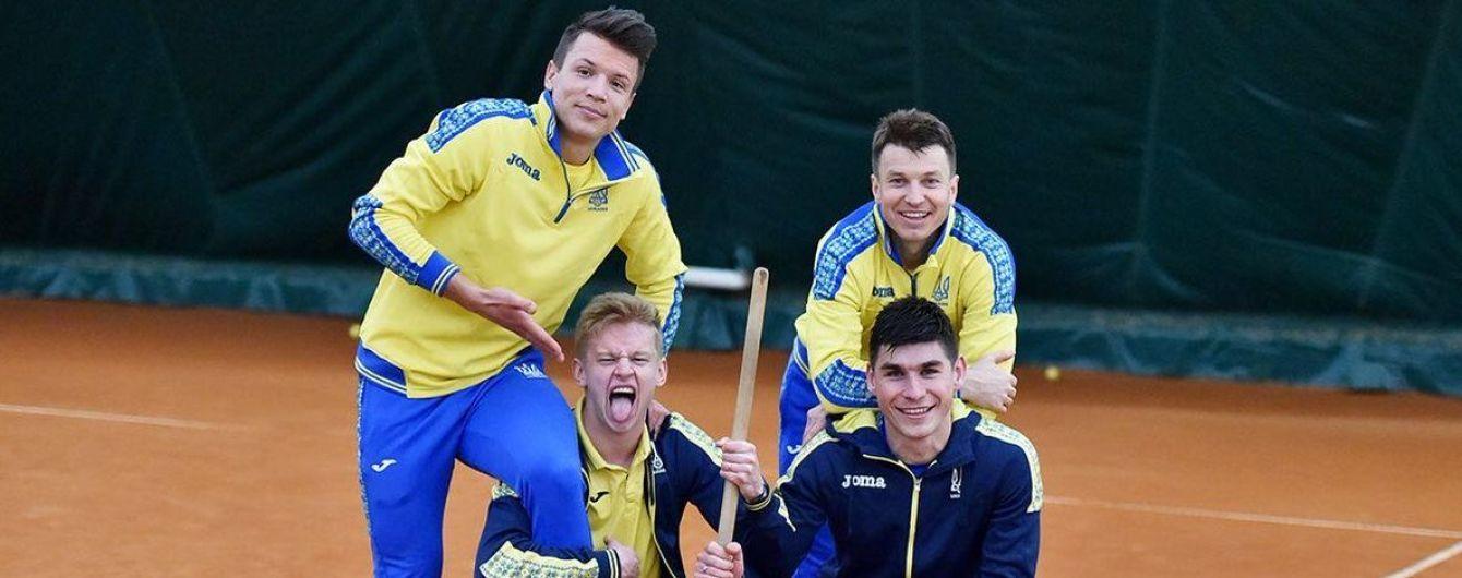 Опыт бьет молодую кровь: как игроки сборной Украины сыграли в теннисбол