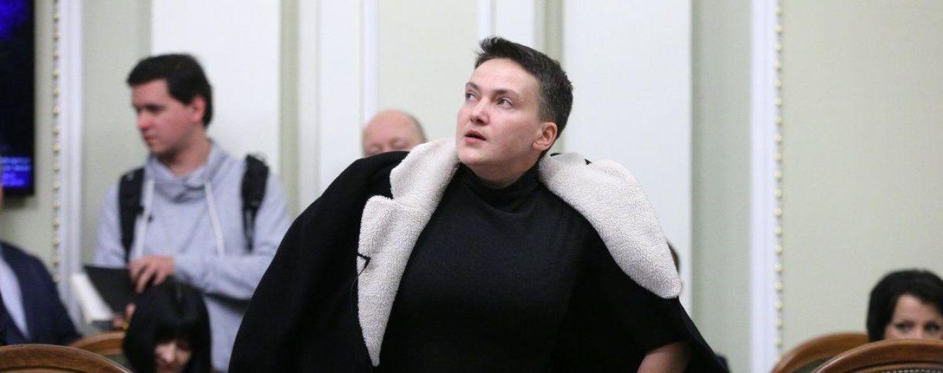 Савченко возобновила голодный протест накануне тестирования на полиграфе