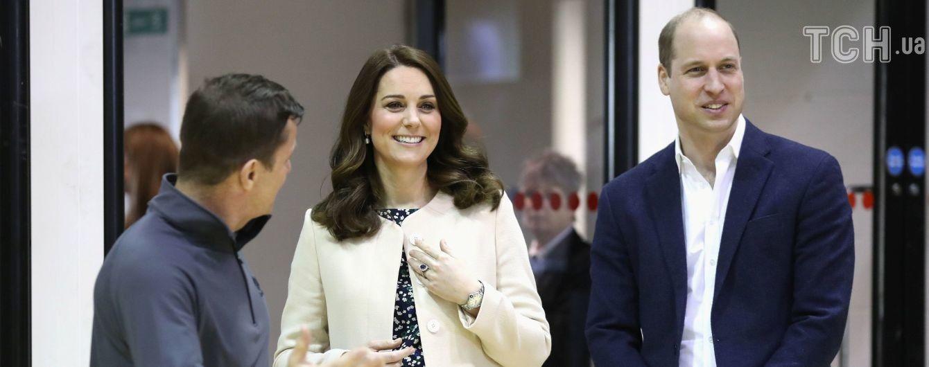 Принц Уильям и Кейт обнародовали имена крестных родителей их сына Луи