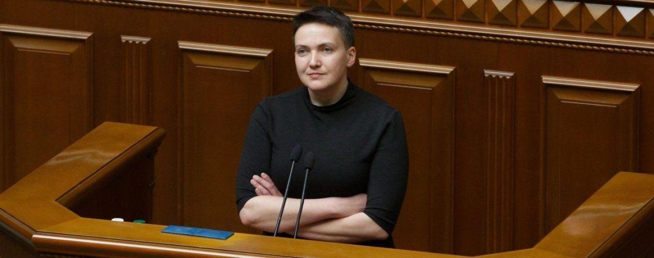 Надежду Савченко выдвинули в президенты