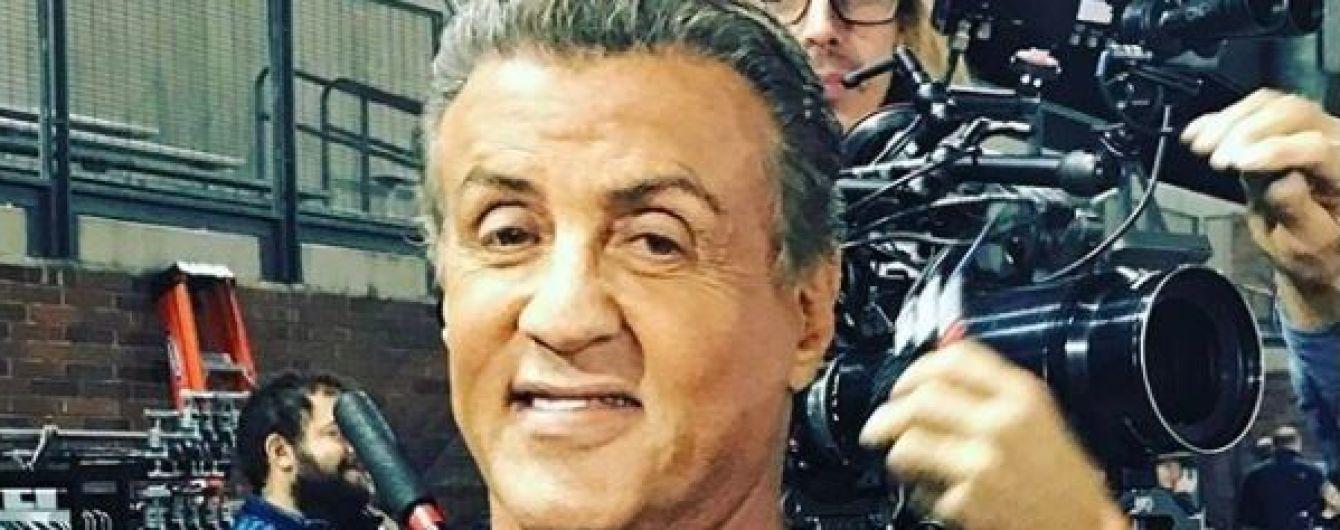 71-летний Сталлоне удивил своими изнурительными тренировками