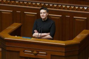 Надію Савченко висунули у президенти