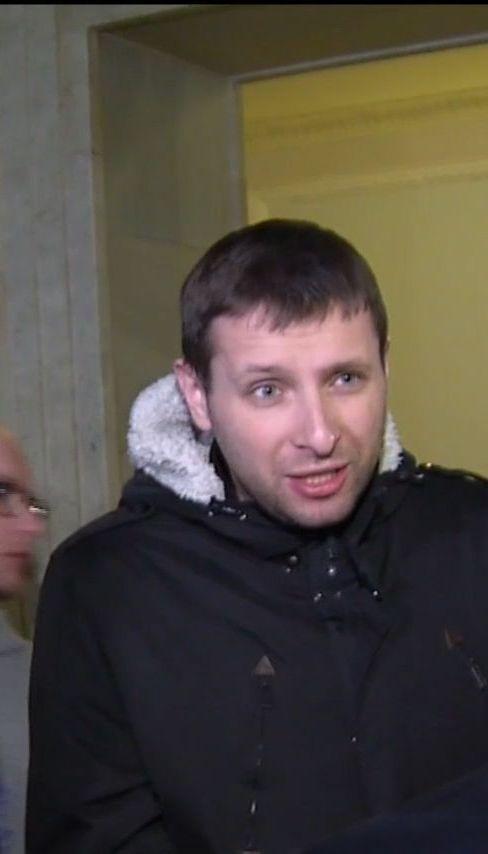 Парасюк поссорился с охранниками ВР из-за закона о безопасности в государственных зданиях