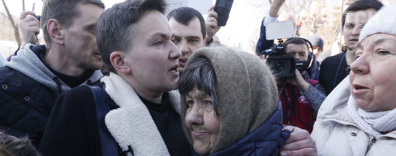 Савченко доставили для проверки на детекторе лжи