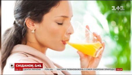 Вживання фруктових соків підвищує ризик серцевих захворювань
