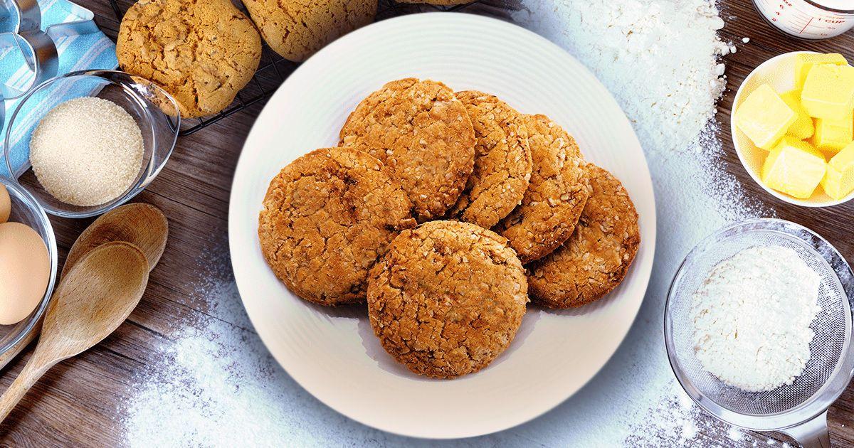 домашнее овсяное печенье рецепт