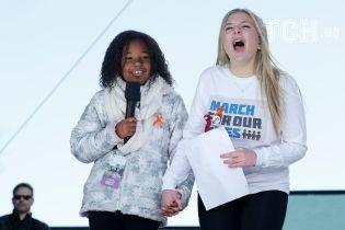 """""""У меня тоже есть мечта"""". Внучка Мартина Лютера Кинга выступила на марше """"За наши жизни"""""""