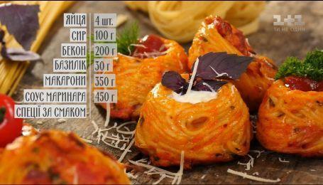 Паста-пончики - рецепти Сенічкіна