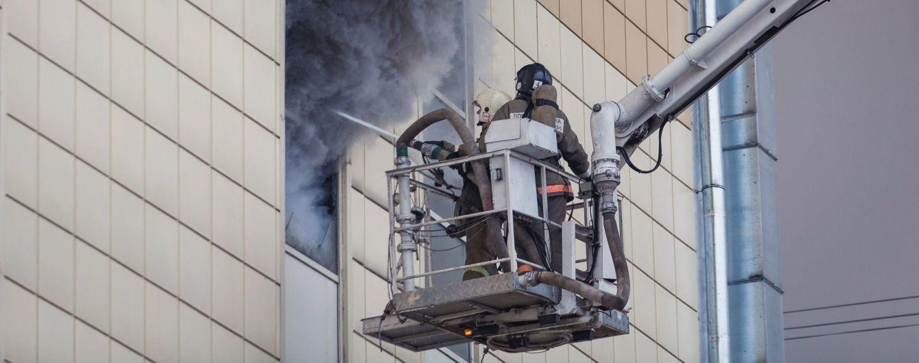 """Рятувальників, які гасили пожежу в """"Зимовій вишні"""", підозрюють у змові"""