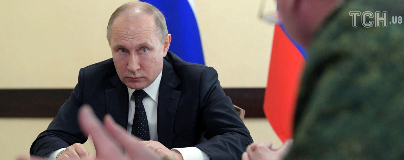 """Путін заявив про можливе виробництво """"Новачка"""" у 20 країнах світу"""