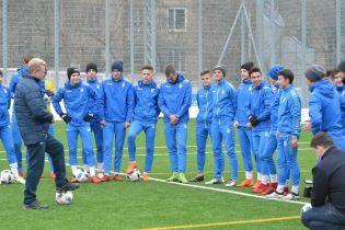 Юношеская сборная Украины в меньшинстве уступила грекам в элит-раунде Евро-2019