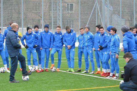 Юнацька збірна України в меншості поступилася грекам в еліт-раунді Євро-2019