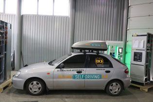 В Запорожье создали беспилотный Lanos, который может ездить без водителя