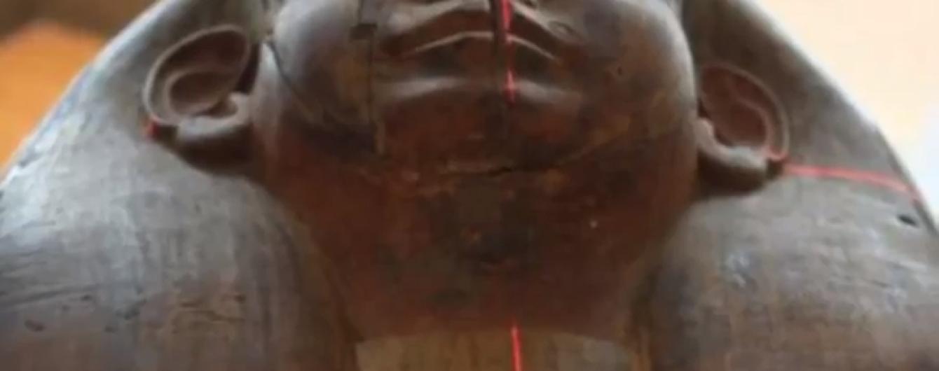 Австралийские ученые обнаружили 2500-летнюю мумию в гробу, который раньше считали пустым