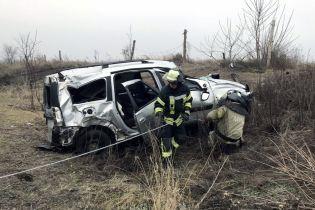 Тройные аварии и горящие авто: появилось видео самых масштабных ДТП Украины