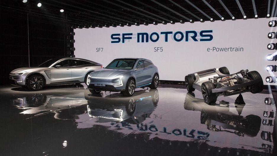 электрокроссовер SF Motors SF5 и SF7_1