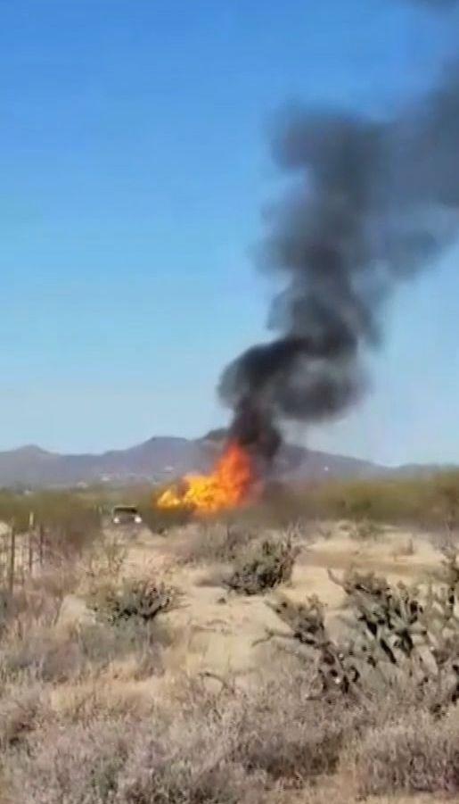 В американском штате Аризона упал воздушный шар с 13 людьми