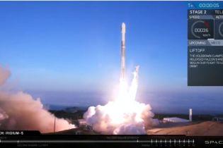 SpaceX запустил очередной Falcon 9 с десятью спутниками
