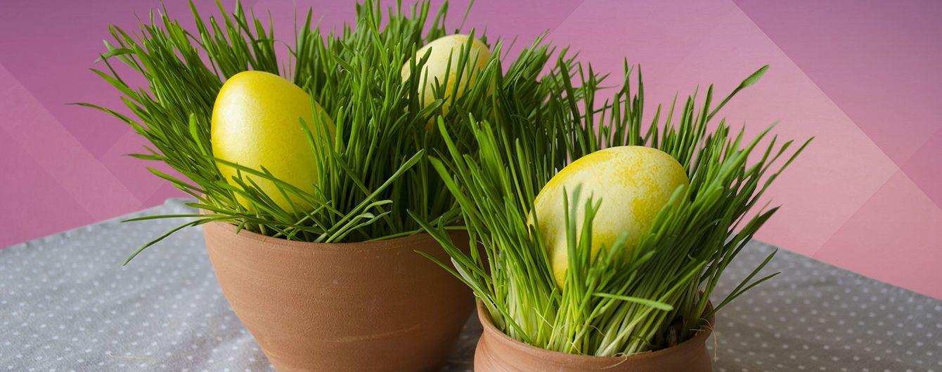 Як гарно подати крашанки на Великдень