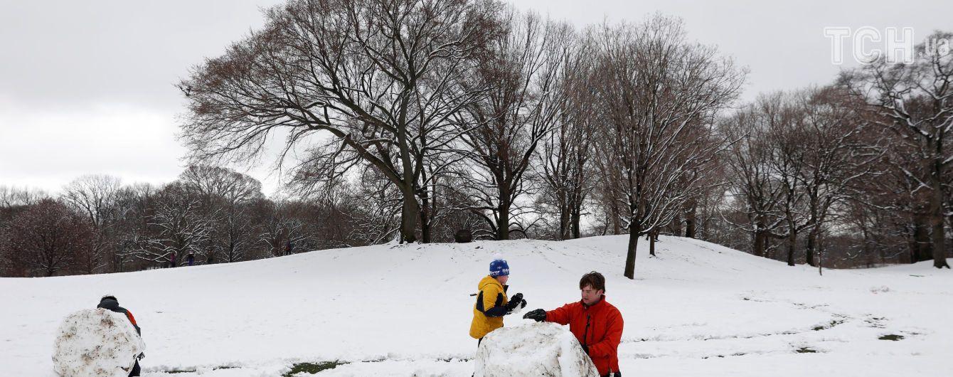 Украинцам предсказывают снежную и морозную новогоднюю ночь