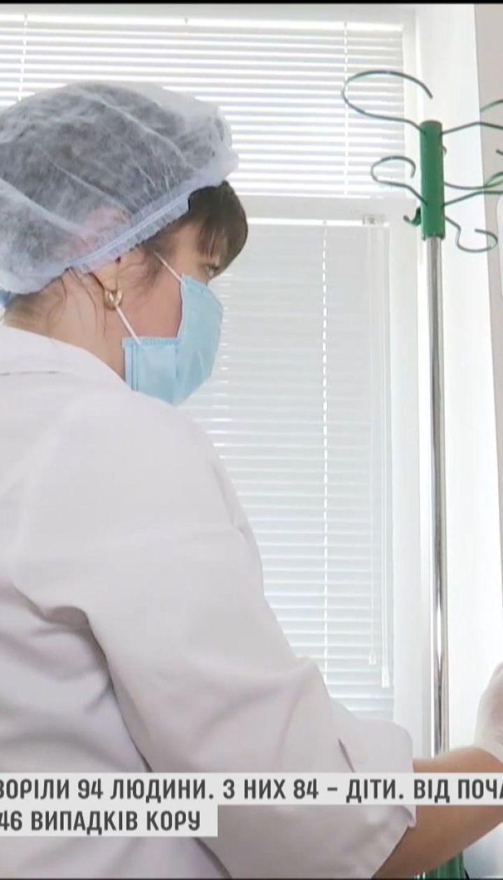 На Закарпатье корью заболели 94 человека, большинство – дети