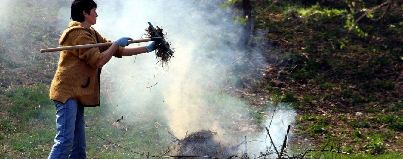 Нардепи в десятки разів підвищили штрафи за спалювання трави та забруднення атмосфери