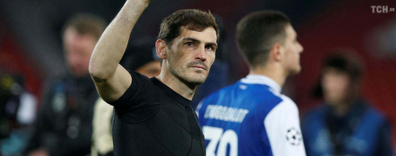 Легендарный испанский вратарь провел юбилейный матч в карьере