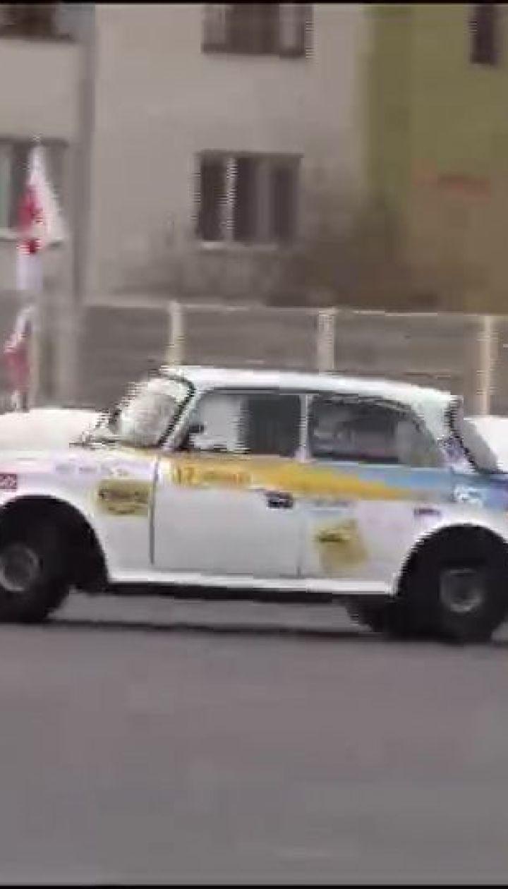 В Харькове прошли соревнования по автомобильному слалому