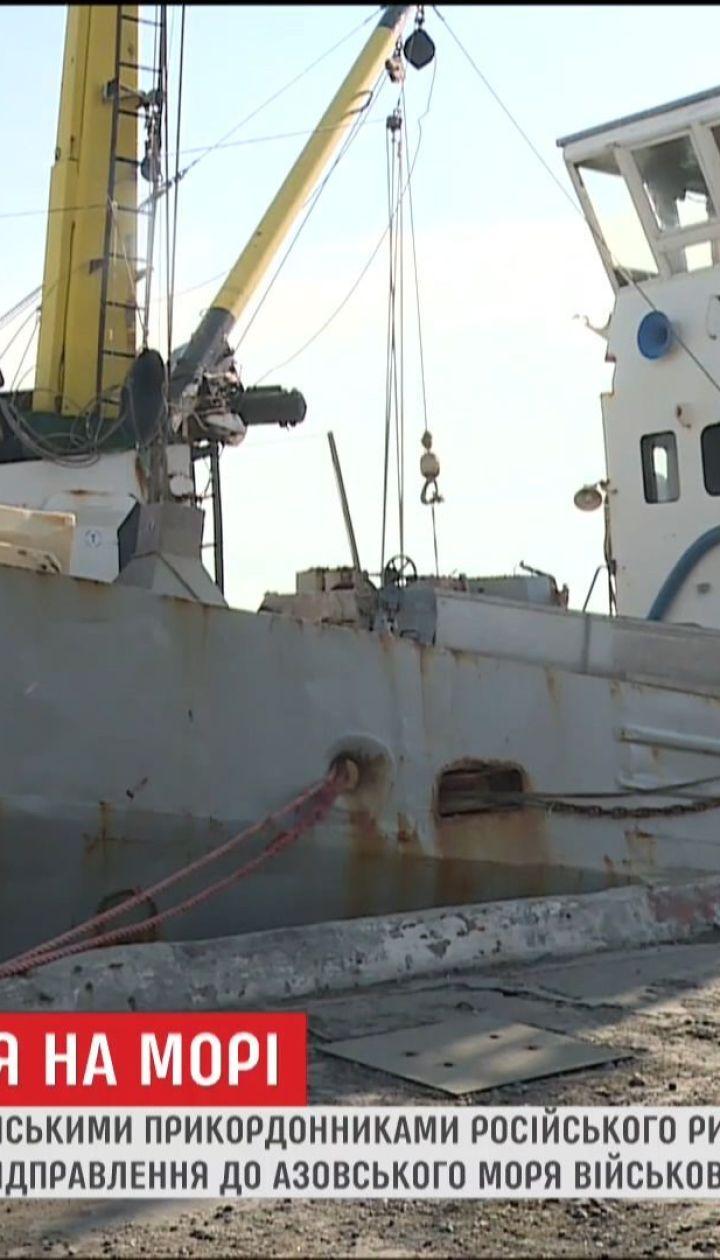 В России заговорили об отправке в Азовское море военного флота