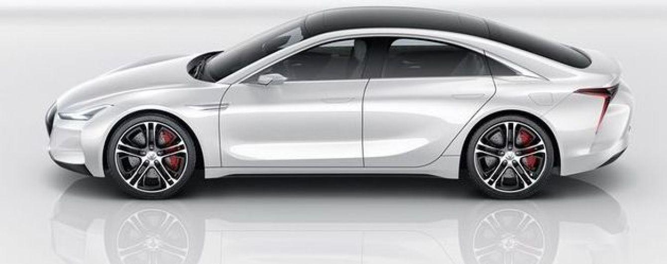 Китайская копия Tesla Model 3 будет почти в два раза мощнее