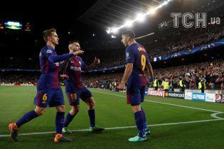 """Когда за тебя все решает соперник. """"Барселона"""" установила необычный рекорд Лиги чемпионов"""