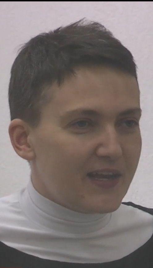 Правдивість тверджень Надії Савченко спробували перевірити на детекторі брехні