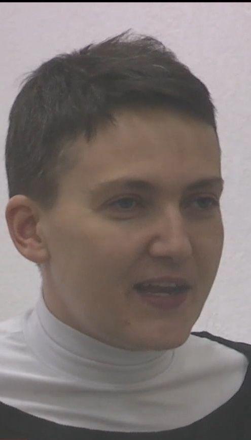 Правдивость утверждений Надежды Савченко попытались проверить на детекторе лжи