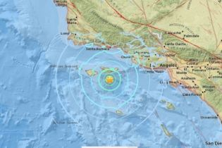 Поблизу узбережжя США стався землетрус