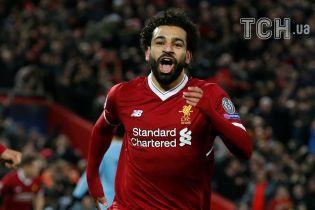 Невероятный Салах стал лучшим игроком недели в Лиге чемпионов