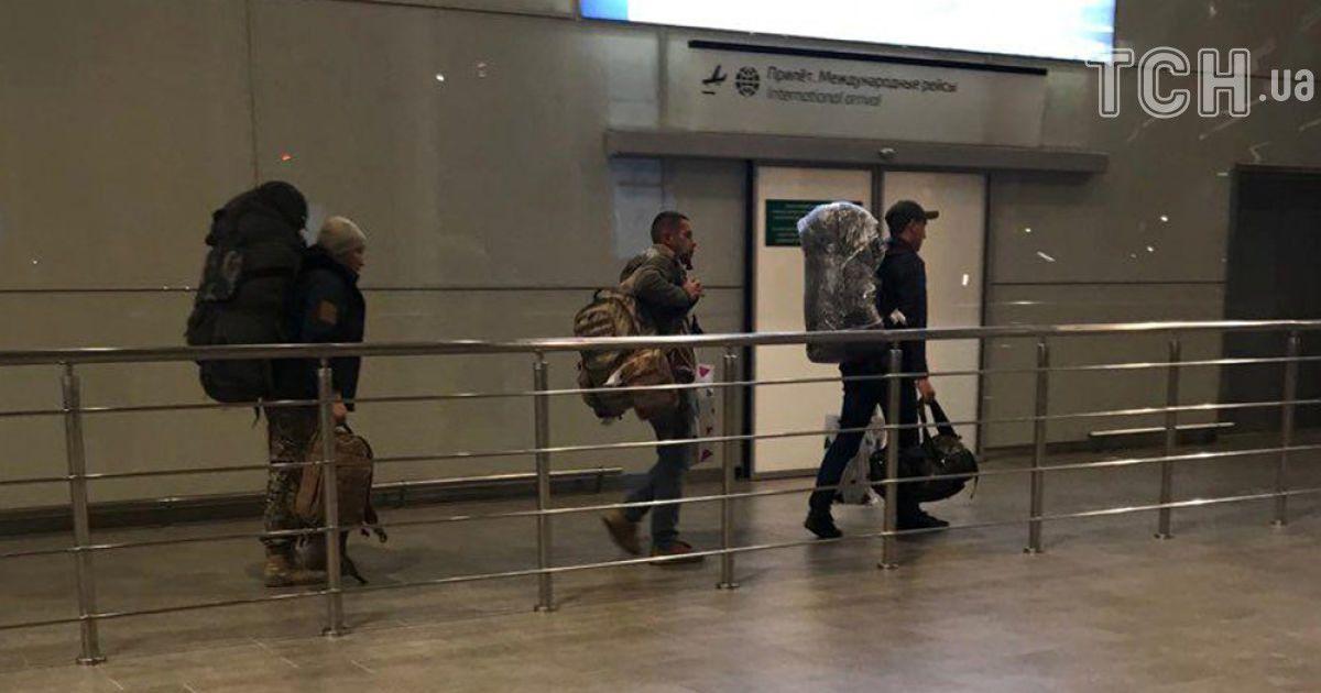 Наемники, прибывшие из Сирии тайным рейсом. @ Reuters