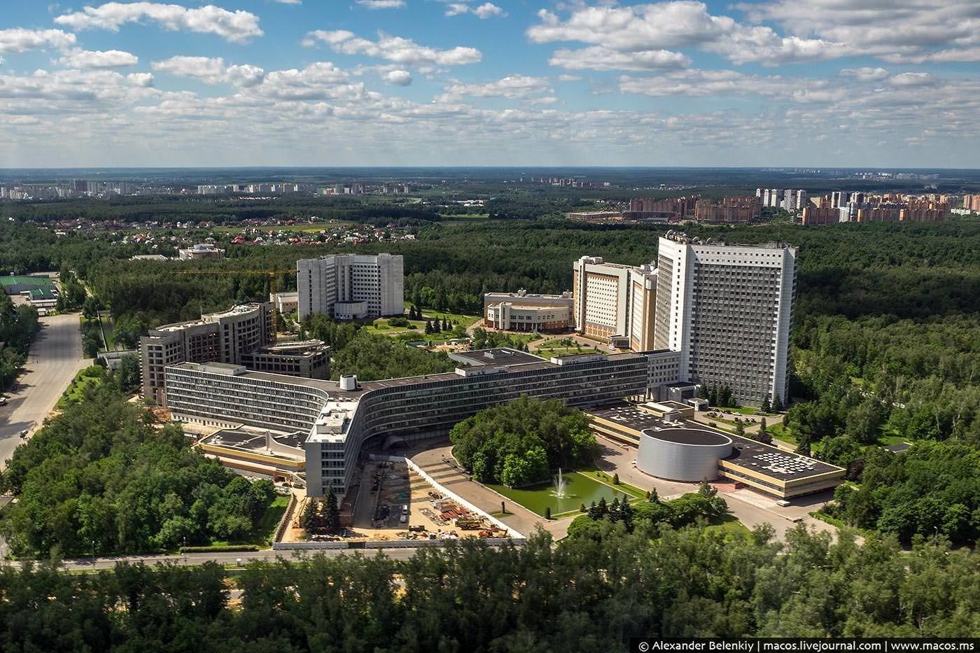 Будівля зовнішньої розвідки РФ у Москві_1