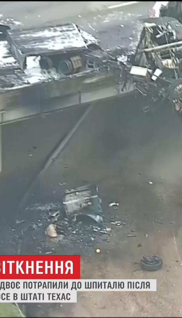 Один человек погиб после жуткой аварии в Техасе
