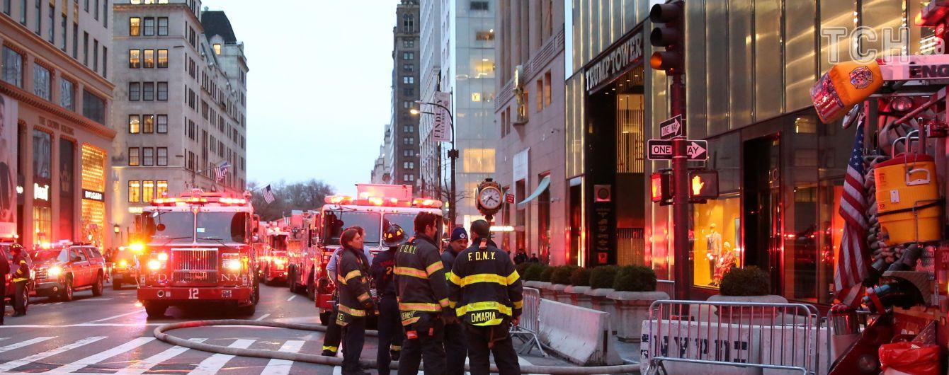 Из-за пожара в Trump Tower погиб мужчина