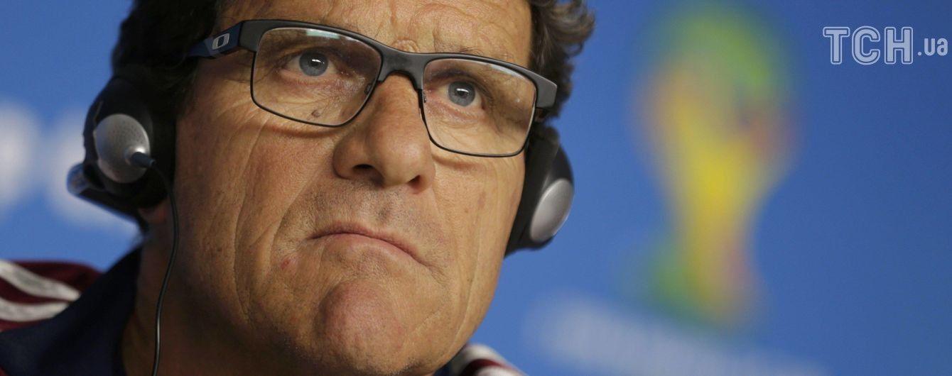 Капелло оголосив про завершення тренерської кар'єри і став коментатором