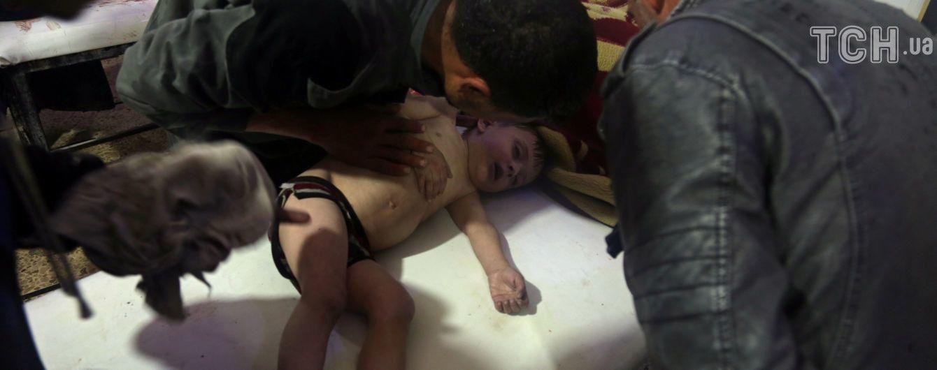 Найбільш масштабні застосування хімічної зброї у Сирії. Інтерактивна мапа