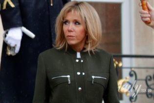 В пальто Louis Vuitton и на каблуках: стильный образ Брижит Макрон