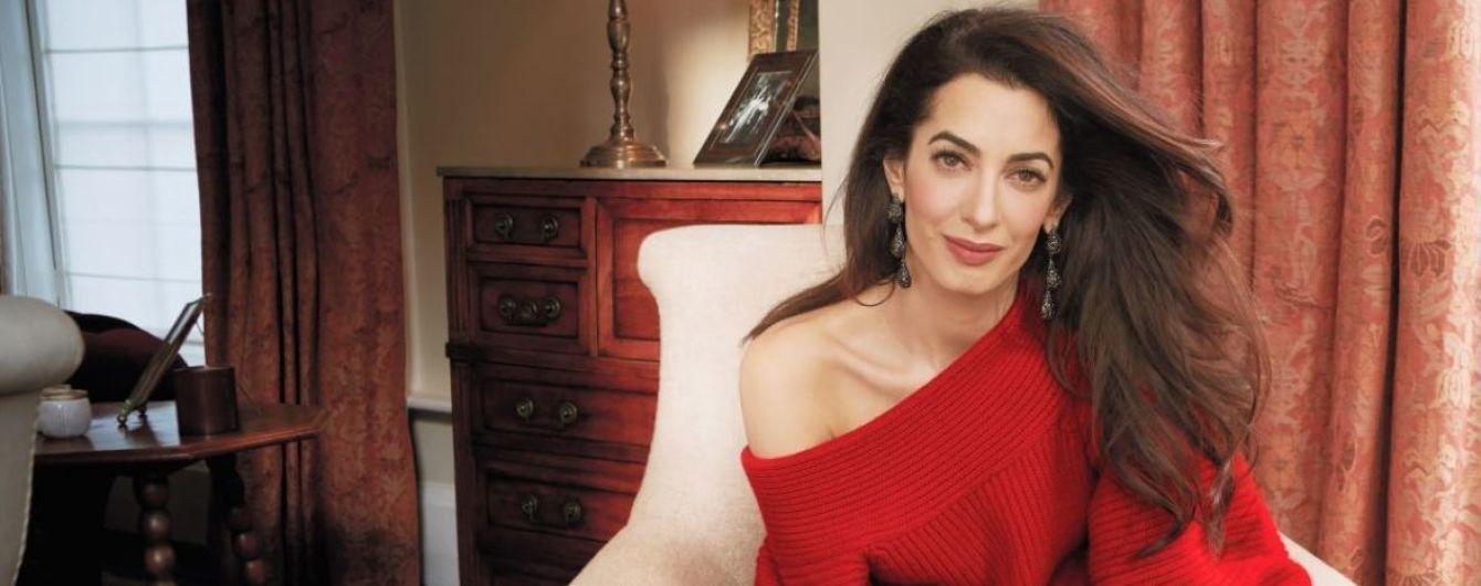 Дружина Джорджа Клуні вперше знялась для глянцю та розповіла про своє життя