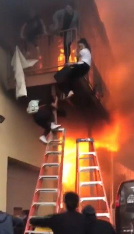 Страшна пожежа сталася в американському штаті Нью-Джерсі