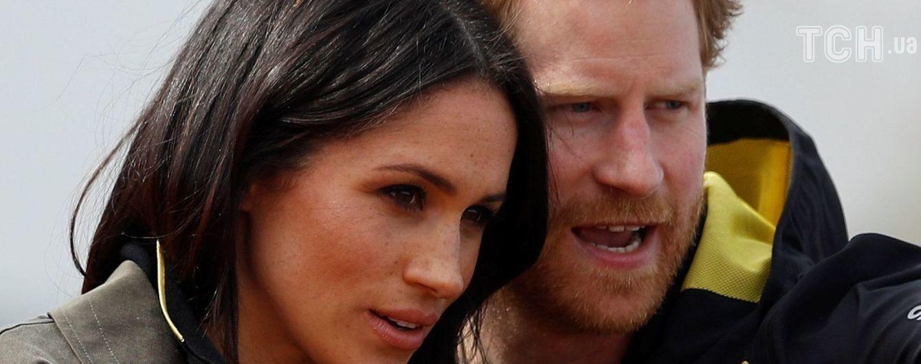 Принц Гаррі та Меган Маркл розповіли, кого не покликали на своє весілля