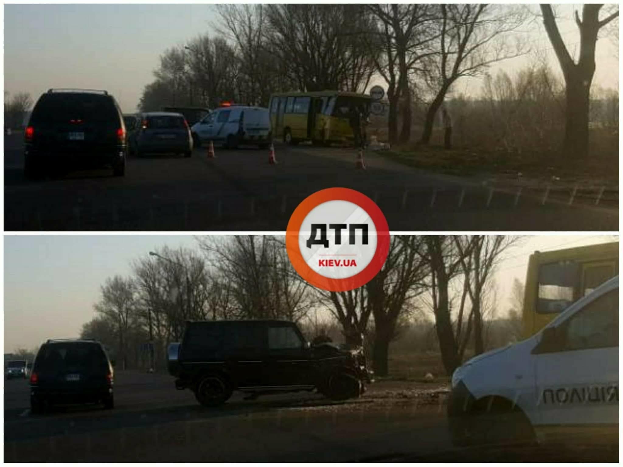 """аварія маршрутки і """"кубика"""" на одеській трасі_2"""