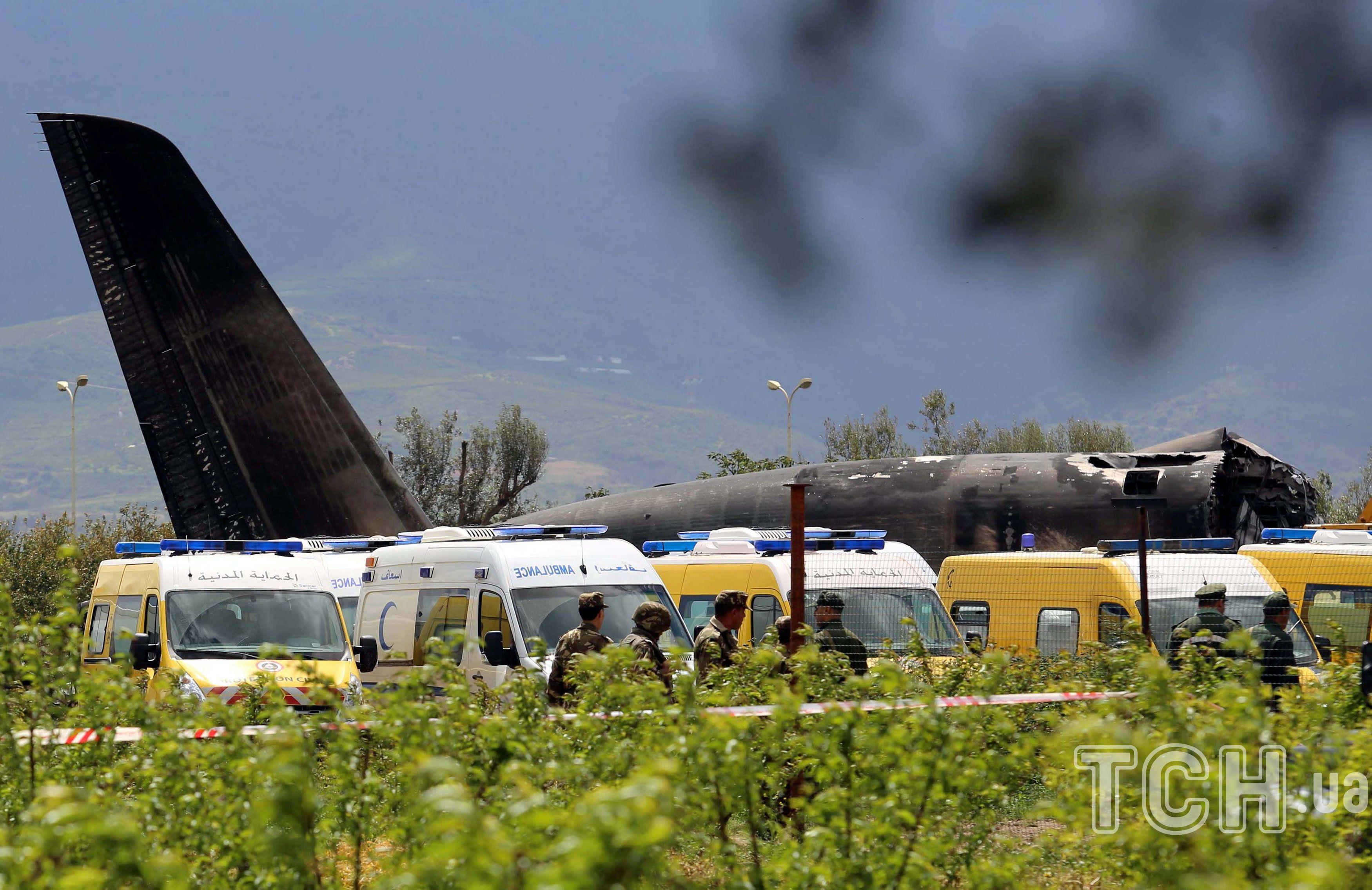 Літак ІЛ-76, Алжир, авіакатастрофа