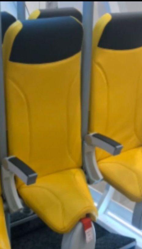 Переліт стоячи: італійська компанія запропонувала нові крісла для літаків-лоукостерів