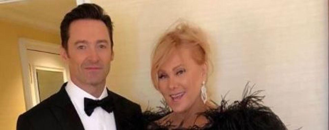 """Закоханий """"Росомаха"""" Джекман зворушливо привітав дружину з річницею весілля"""